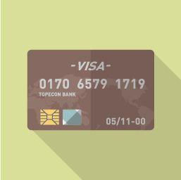 支払いは基本クレジットカード