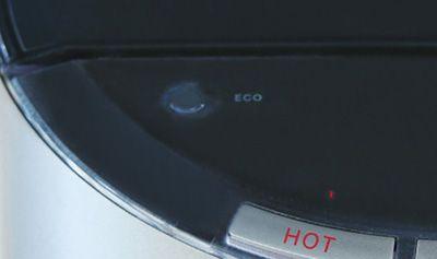 デュオミニのエコモードボタン