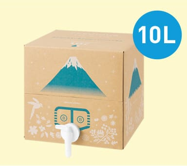 フレシャスの使い切り天然水ボックス「BIB(バッグインボックス)」